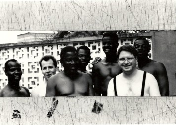 Lagos, Nigeria with Gyorgy Kurtag, electronic and some musicians from Femi Kuti's Band