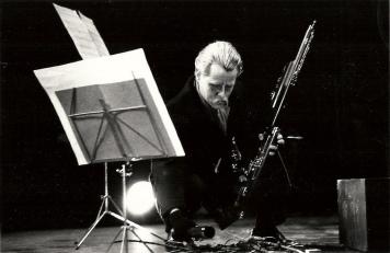 Festival d'Automne - American Center - Paris Gérard Condé, Rhapsodie for solo Bassoon (photo : Stéphane Ouzounoff)