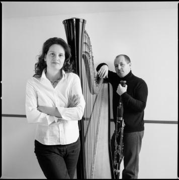 Gudrun Huhmer-Virot, Harp (Photo : Stéphane Ouzounoff)