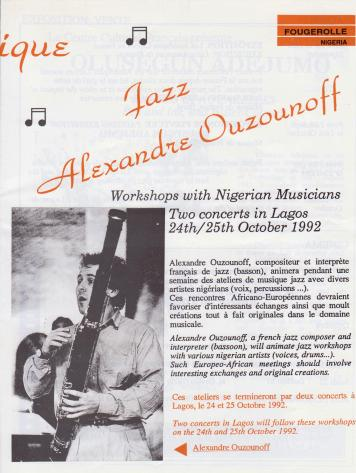 Jazz in Nigeria, a long time ago...