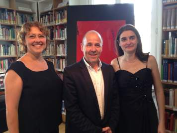 """with Sophie Dartigalongue, Bassoon and Anna Kirichenko, Piano in Bonn Beethoven Festival for """"Fleur de l'Aube"""" Premiered in september 2014"""
